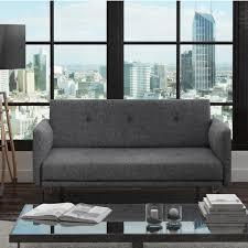 Colby  Seater Modern Fabric Sofa In Dark Grey Furniture - Sofa modern 2