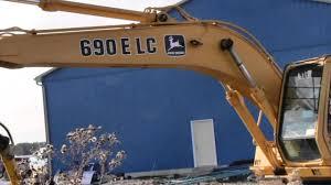 used john deere 690 e lc excavator toronto ontario