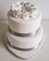 silver wedding cakes tiered silver wedding anniversary cake cakes by siobhan cakes by