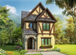 tudor house plans with photos exclusive narrow lot tudor house plan 17814lv architectural