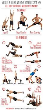 at home workouts for bodyweight workout with warmup