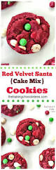 red velvet santa cake mix cookies u2013 the baking chocolatess