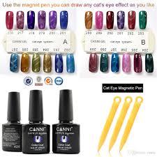 7 3ml wholesale canni cat eye gel polish 51023 soak off uv led 24