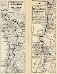 Bloomington Ca Map U S 395 San Diego Original U0026 Final Routes
