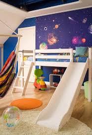 chambre enfant toboggan design interieur idee deco chambre enfant lit mezzanin toboggan