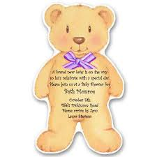 teddy bear baby shower invitations u2013 gangcraft net