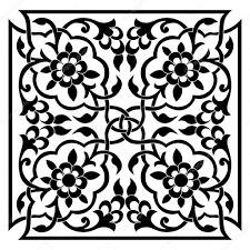 oriental ottoman design one u2014 stock vector antsvgdal 39712763