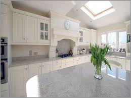 Minimalist Kitchen Cabinets Kitchen Alaska White Granite Countertops Minimalist Kitchen Set