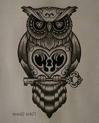 29 best black owl tattoos for men images on pinterest black owl