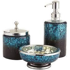 marvellous design aqua bathroom accessories sets turquoise bath