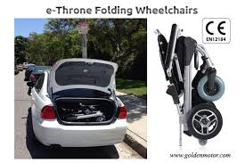 portable electric wheelchair folding electric wheelchair brushless