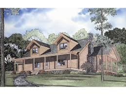 rustic log home plans cobb creek rustic log home plan 073d 0004 house plans and more