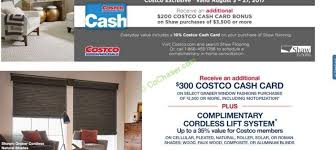 Costco Blinds Graber Costco Coupon Book August 03 U2013 August 27 2017 U2013 Costcochaser