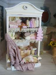 Shabby Chic Dollhouse by 119 Best Armoires And Cupboards Images On Pinterest Dollhouse