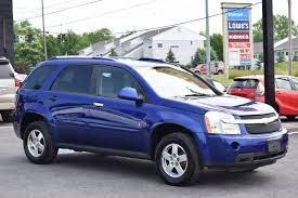 chevrolet equinox blue 2007 chevrolet equinox lt in rensselaer ny broadway motor car inc