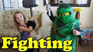 kids dress up in costumes u0026 lego ninjago movie costume fighting