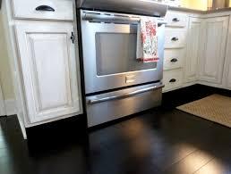 Black Kitchen Tiles Ideas Cool White Kitchens With Black Floors Kitchen Design Ideas