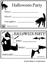 halloween party invitation printable u2013 festival collections