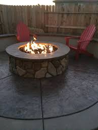 large fire pit table large outdoor fire pit natural gas pits kits scool info