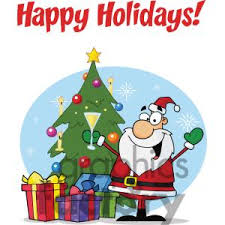 holiday card clipart free