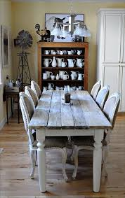 Best Farmhouse Dining Rooms Images On Pinterest Live Home - Dining room farm tables