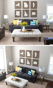 diy livingroom decor 15 diy ideas to refresh your living room 1 diy crafts ideas