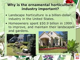 the horticulture industry ppt