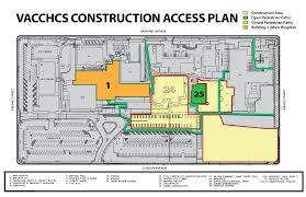 construction and parking updates va central california health