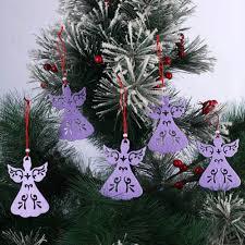 online shop 5pcs lot non woven fabric christmas angel hollow