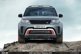 modified range rover land rover u0027s hand built discovery svx is the most extreme