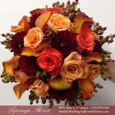 fall bridal bouquets fall bridal bouquets buffalo wedding event flowers by lipinoga