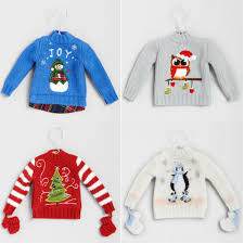 4 off sweater christmas ornaments 2 for 12 free s h