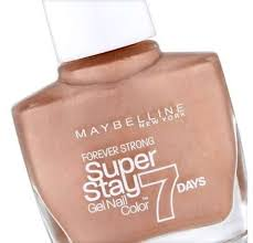 maybelline forever strong super stay 7 days nail varnish