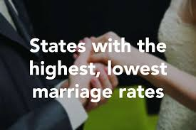 marriage caption connecticut has the lowest marriage rate in the u s connecticut