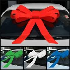 big bow for car present big bow for new car 16th birthday present gift wrapping