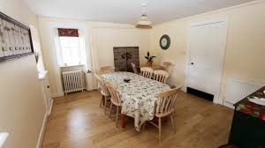 table in the kitchen stately holiday home for rent near aberdeen scotland