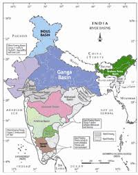 India River Map by Trends In Rainfall And Peak Flows For Some River Basins In India