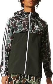 adidas originals men s camouflage windbreaker jacket dick s