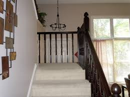 How To Make A Banister For Stairs Remodelaholic Diy Stair Banister Makeover Using Gel Stain