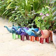 elephant watering can watering cans outdoor ibbi direct