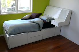 headboard captains bed bookcase headboard king size full with