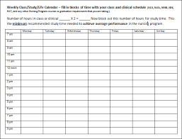 sample schedules schedule sample in word