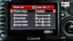 tutorial como instalar o technicolor cinestyle na canon dslr youtube