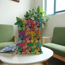 design kissenbez ge pop kunst michael jackson modischen dekokissen fall dekorative