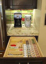 Coffee Nook Ideas Best 25 Keurig Station Ideas On Pinterest Coffee Corner Kitchen
