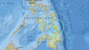 san francisco quezon map magnitude 6 5 earthquake strikes southern philippines cbs san