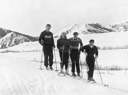 look back vintage celebrity ski style gary cooper ingrid