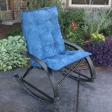 Fold Up Rocking Lawn Chair Rocking Chairs Patio Furniture Shop The Best Outdoor Seating