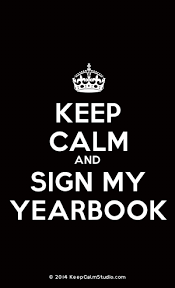 find my yearbook photo use as advertising for the yearbook by saying keep calm and buy