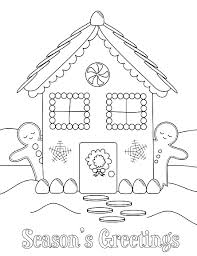 printable gingerbread house colouring page gingerbread house coloring pages printable coloring activity winter